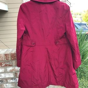 Rain trench coat